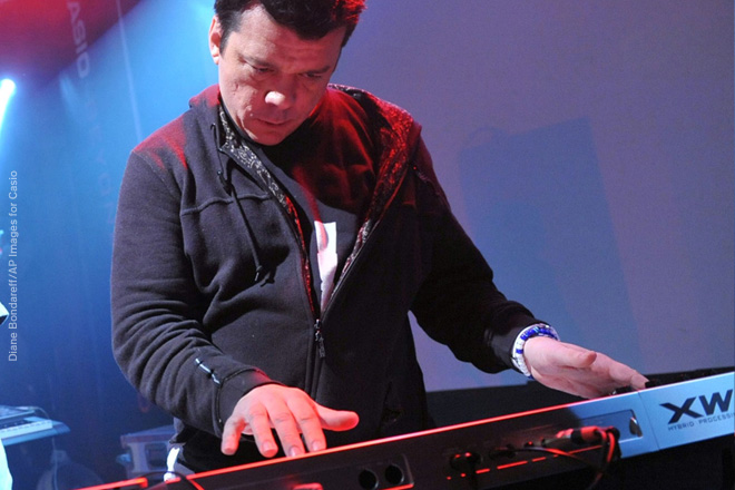 CRYSTAL METHOD HELPS CASIO LAUNCH NEW SYNTH
