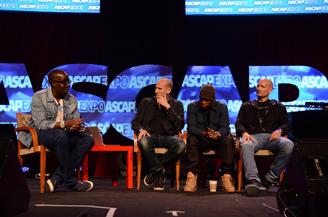 SVP of A&R of Island Def Jam Music Group Chris Anokute moderating Take a Bow: Master Session with Ne-Yo and Stargate