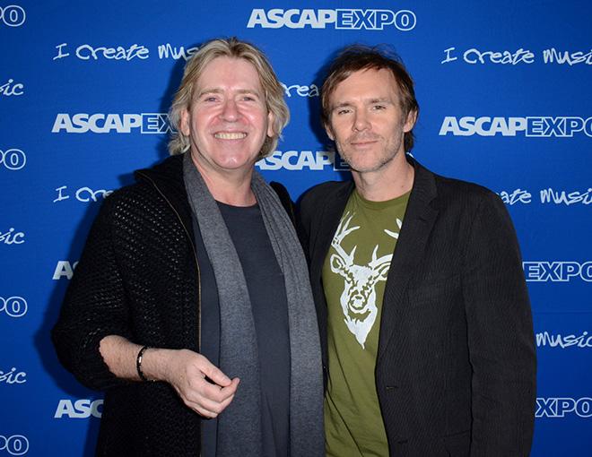 Producer Steve Lillywhite and ASCAP's Erik Philbrook
