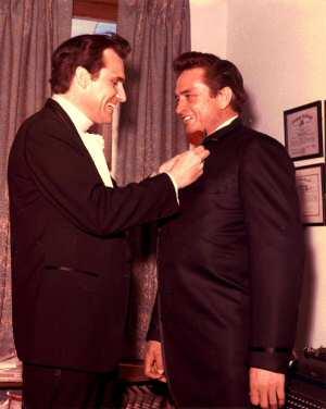Merle Kilgore with Johnny Cash