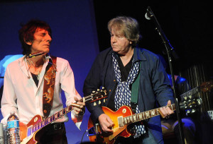 Ronnie Wood & Mick Taylor-2