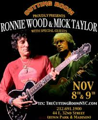 Ronnie Wood & Mick Taylor - poster