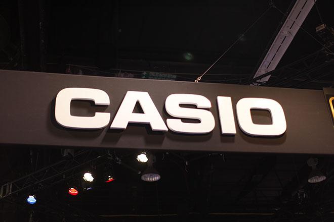 CASIO @  2014 NAMM Show