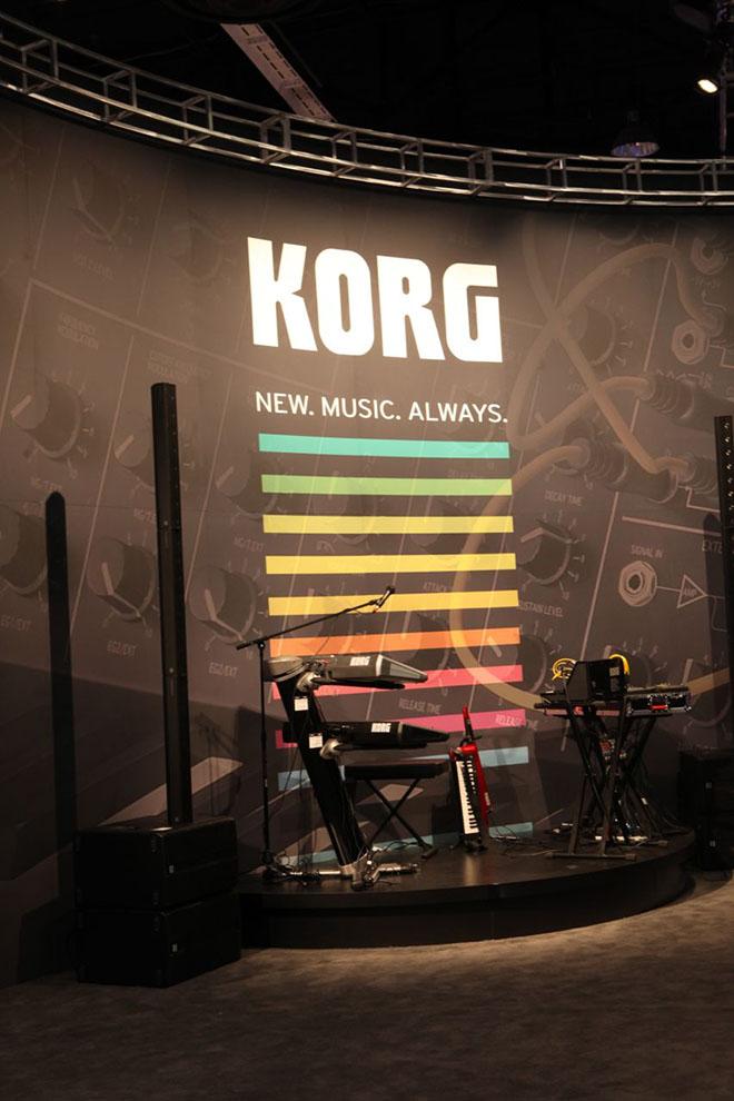 M Music & Musicians Magazine » KORG @ 2014 NAMM Show