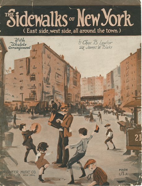Sidewalks of New York - sheet music