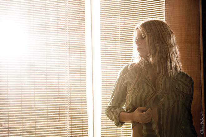 """FERGIE, 2007 Fergie's gearing up to shoot the """"Big Girls Don't Cry"""" video in L.A. She was lost in herself, dancing and rehearsing what she was going to do. I'd noticed the beautiful light coming through the window and clicked. I love a backlit shot."""