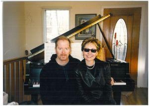 Mark Cawley with Lulu