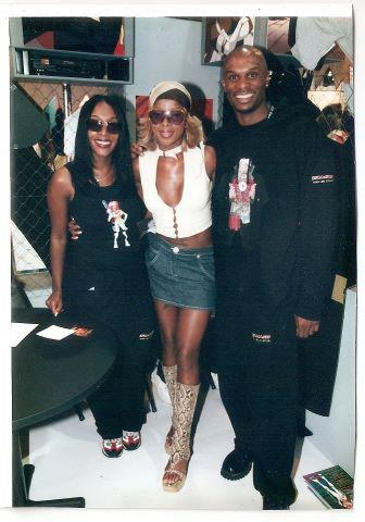 Steve Lewis with Mary J. Blige & Tamala Lewis