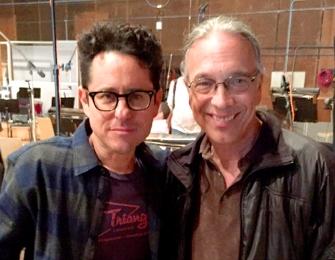 Bill Reichenbach with JJ Abrams