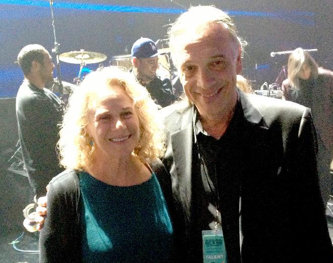 Bill Reichenbach with Carole King