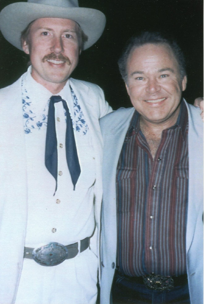 Austin Church with Roy Clark