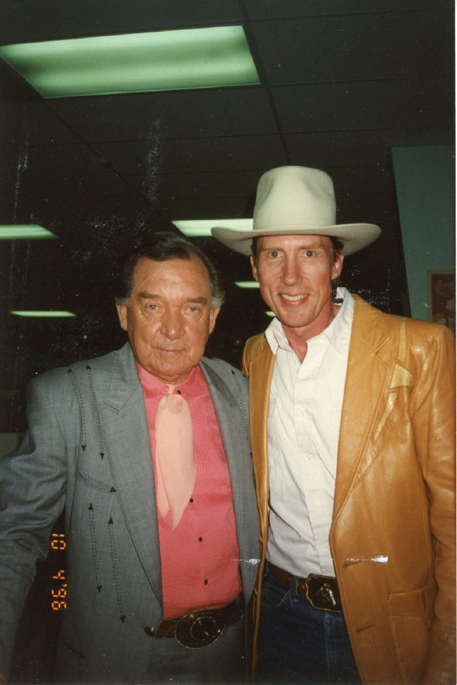 Austin Church with Ray Price