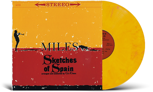 Miles Davis' Sketches of Spain - vinyl
