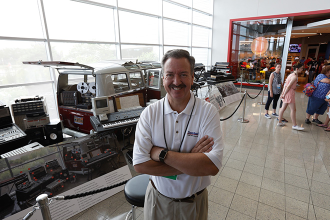 Sweetwater founder and president Chuck Surack greeted thousands of customers during both days of GearFest 2017.