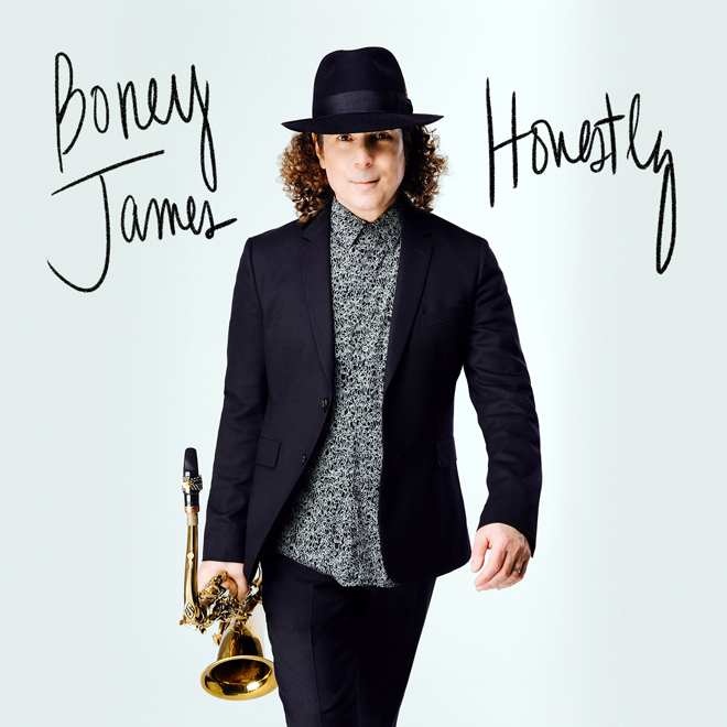 Boney James-2 - Honestly album cover