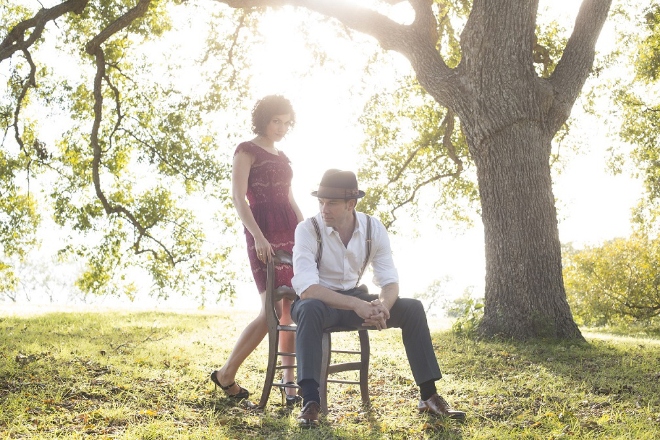 Photo of Carrie Rodriguez and Luke